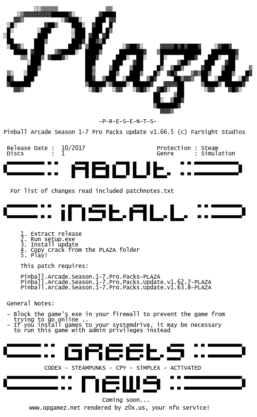 Pinball.Arcade.Season.1-7.Pro.Packs.Update.v1.66.5-PLAZA plaza.nfo