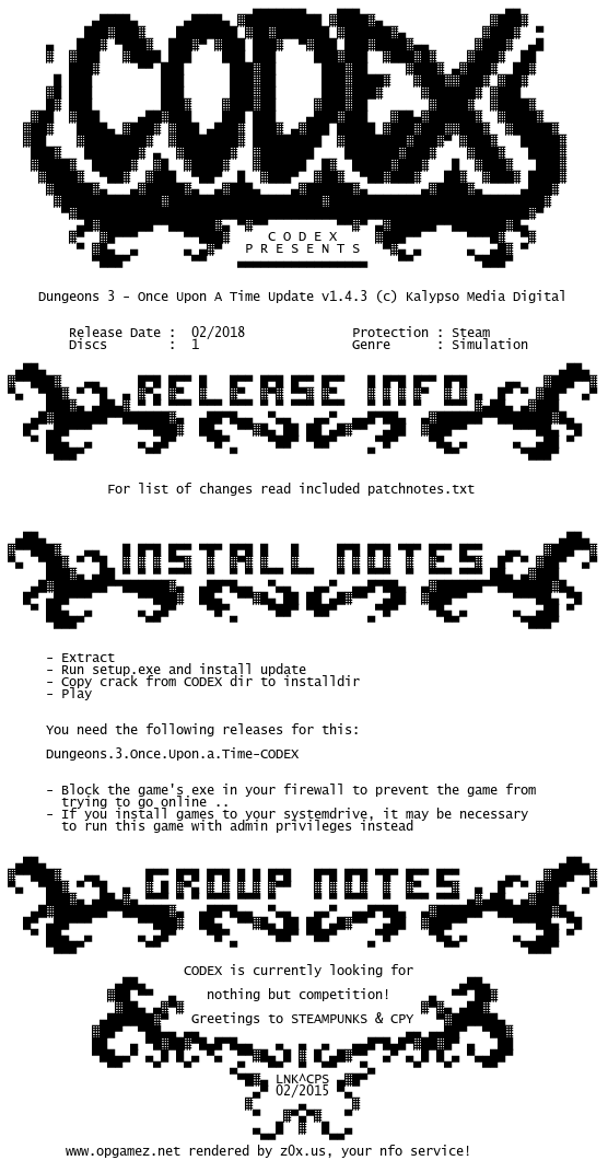 Dungeons.3.Once.Upon.a.Time.Update.v1.4.3-CODEX codex.nfo